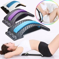 Stretch Equipment Back Massager Barella Fitness Supporto lombare Relaxation Mate Spinal Pain Alleviare il chiropratico Messager