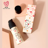 Maquiagem MLA Natural Brightening BC Creme Foundation Base de Corretivo Creme BB Hidratante Primer Face Beauty Cosmetic