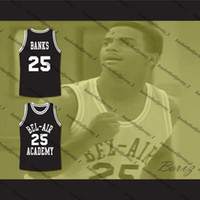 Bel-Air Alfonso Fresh Prince Ribeiro Carlton Bankalar Bel-Air Academy Basketbol Jersey-9