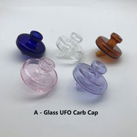Beracky Glass Carb Caps With Bubble Ball Cap Straw Cap UFO C...