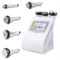 Ultrasonic Cavitation Slimming Machine 5 In 1 RF 40K Fat Burning Face Lifting Tightening Machines Home Use Weight Loss Beauty Equipment