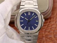 PF V2 montre DE luxe esfera azul resistente al agua Cal.324 relojes de movimiento automático de cadena hebilla plegable relojes de diseño Acero inoxidable