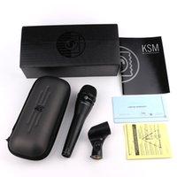 KSM8 Kablolu Mikrofon Dinamik Kardiyoid Vokal Mikrofon Profesyonel Karaoke El Mikrofon Canlı Sahne Performans Gösterisi için Mic