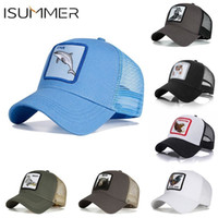 Isummer Hot Sale Baseball Cap Fashion Unisex Mesh Cap Animal...