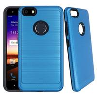 Para iphone xi xi xi max 6 7 8 além de xs xx xr 5g max 5se escovado metal texured design durável híbrido capa absorvente de choque case