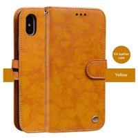 Luxe Wallet Case voor iPhone XS MAX XR X 87G 6SPlus 5s Xiaomi Hongmi Note6 Pro 5x S2 Note5Pro Note4x F1 Nokia 3/5 / 6 / 8Cover