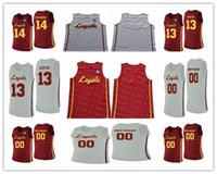 Custom College Basketball Loyola Chicago Ramblers 13 Clayton Custer 25 Cameron Krutwig Ingram Jackson Marques Rot Weiß Nähed NCAA JERSEY