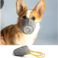 الحيوانات الأليفة أقنعة الكلاب الذهاب خارج التنفس الغبار يغطي الفم واقية الجديدة قناع الضباب مكافحة الغلاف بالضباب مع صمام يأجوج الصحة قناع 1200PCS IIA96