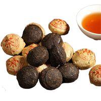 Tercihi 250g Yunnan Broken tuocha Mini Olgun Puer Çay Kek Organik Doğal Siyah Pu'er Çay Yaşlı Ağaç Pişmiş Puer Çay
