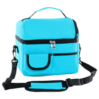 Reusable Insulated Thermal Bag Double- layer Unisex Lunch Bag...