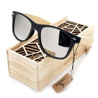 BOBO BIRD Sunglasses Women Men Summer Vintage Black Square L...
