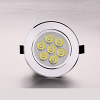 7W X 4pcs LED Downlight rotatable Recessed Ceiling Light war...