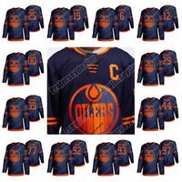 Bayan Edmonton Oilers 2019-2020 Üçüncü Forma 18 James Neal 97 McDavid Leon Draisaitl Zack Kasnian Darnell Hemşire Oscar Klefbom Alex Chiasson