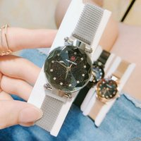 2019 New High quality Magnet buckle Purple Women Watch Fashi...