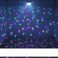 Voice Control LED Crystal Ball Magic Light 6 cambiamento di colore Effetti laser fase di illuminazione luci da discoteca per i rifornimenti DJ Bar partito