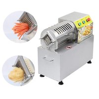 Usine machine de découpe à puce machine à / pommes de terre frites électrique directe / concombre faisant bandes tranches de carottes gain de temps et d'efforts