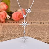 Мода звезда кулон ожерелье для дамы День Святого Валентина подарок ожерелье ювелирные изделия