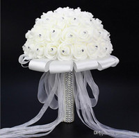 Wedding Bouquet Stunning Crystal Artificial Wedding Bouquets...