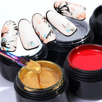 1 Bottle Painting Gel Nail Polish Pull Line Gel Lacquer UV S...