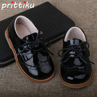2018 Baby Toddler Boy Girl Full Grain Leather Oxfords Little...