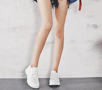 Moda Zapatos ocasionales del hombre súper ligero transpirable zapatillas de deporte estiramiento Masculino Palomitas zapatos inferiores INS marea con la caja