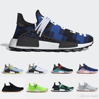 2019 Human Race X BBC trail Scarpe da corsa Conoscere Soul Gum Pack Uomo Donna Pharrell Williams HU Heart Mind Inspiration Sneakers sportive solari