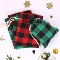 Regalo di Natale Borse di Tela naturale Vintage coulisse Candy Bag sacchetto di immagazzinaggio per i bambini festa di nozze Sacchetti regalo BagsT2I5669