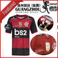 2020 Flamengo Final Supercopa Do Brasil Soccer Jerseys Gabriel B. 9 Estádio Nacional Mané Garrincha 20 21 Jersey Football Shirts