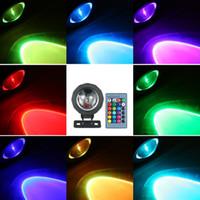 Yüzme Havuzu Akvaryum Pond için RGB LED Sualtı Işık Dalgıç Lamba 12V su geçirmez 16 Renk Değişimi Işıklar Çeşmesi Cadılar Bayramı Chr Sprey