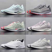 2019 Nike Zoom pegasus 35 turbo flymesh running shoes mens air new mesh mesh zoomx réagir coureurs femmes tricot noir blanc rose formateurs taille 36-45