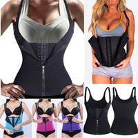 471c204c86 Nova Chegada. Hot Shapers Neoprene Sauna Sweat Vest Cincher Trainer Cincher  Mulheres Body Slimming Trimmer Espartilho Treino ...