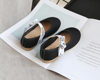Meninas Princess Tênis meninas New Bow sapatas lisas Crianças Casual ao ar livre-shoes 2020 Novo Estilo Moda suave Sole Estudantes-Shoes Hot Sell