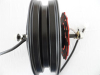 10 pulgadas 48 V / 60 V / 72 V 2500 W de alta potencia e-scooter motor sin escobillas / e-bike DIY bldc motor / alta velocidad motor eléctrico de la motocicleta