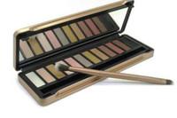 Dernier maquillage de la terrasse de la terrasse de la terrasse thermique thermique fard à paupières classique Earthtone tache à paupières 12 couleurs haute Quanlity Livraison gratuite