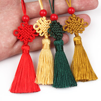 Multi Color Cute Chinese Knot Pretty Car Hanging Accessories...