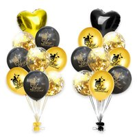Eid Mubarak Balloons Set Latex Balloon Hajj Decoration Ramad...