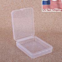 carta US azione DHL Flash Sale Maschera del contenitore della scatola di protezione della cassa di carta contenitore della scheda di memoria CF Boxs strumento di plastica trasparente di stoccaggio