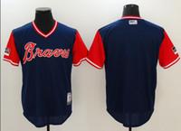 New Arrival. 2019 Custom Atlanta Braves Sports Champion mlb Cheap Baseball  Jerseys Fashion Men Youth Ozzie Albies ... 2682b3ff6