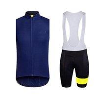 Rapha ciclismo sem mangas jersey colete bib shorts conjuntos de mountain bike roupas de alta qualidade Respirável bicicletas roupas H040930