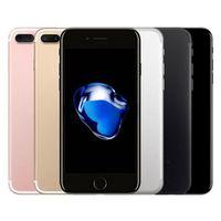 تم تجديده الأصلي التفاح iphone 7 زائد 5.5 بوصة بصمة ios a10 رباعية النواة 3 جيجابايت رام 32/128 / 256 جيجابايت rom 12mp مقفلة 4 جرام lte الهاتف dhl 10 قطع