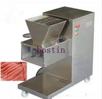 Envío libre 110/220 / 380V máquina de QW de corte de carne, máquina de cortar carne, cortador de carne, 800 kg / hr de la máquina de procesamiento de carne