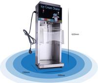 Qihang_top Paslanmaz çelik yumuşak dondurma karıştırıcı shaker ticari meyve yoğurt blender dondurma milkshake makinesi