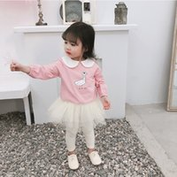 2019 Spring New Arrival korean style cotton duck printed cut...