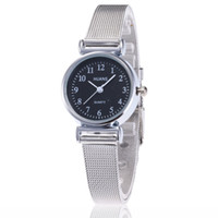 New Ladies Watch Casual Dress Sliver Stainless Steel Small S...