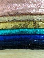 mylb 1m / pcs вышивка блесток тканевый материал золото серебро блестящие ткани для одежды делая события партии столовые приборы декор