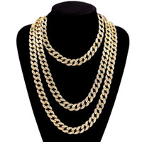 24k gold simple designHot Sale!15mm Thick Cuban Chain 24K Go...