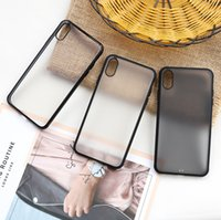 Premium matte tpu anti-queda soft iphone case capa transparente phone case capa para iphone 6 7 8 plus x xr xs max