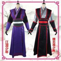Anime disfraces del diablo master mao dao zu shi wei wuxian cosplay cosplay peluca grandmaster demonic lan wangji yiling jinling hanfu
