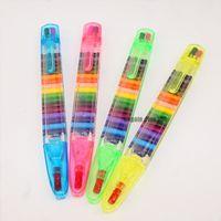 Kinder Malen Spielzeug 20 Farben Wachsmalstift Baby Lustige Kreative Pädagogische Öl Pastell Kid Graffiti Stift 20 Farben in 1 Stift
