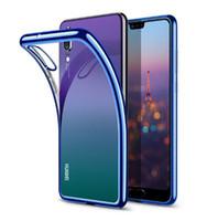 Custodia rigida in TPU per Huawei P20 Lite P10 P Smart Plus Nova 3 3i 3E Mate 10 9 Custodia Anit-Skid Honor 9i 9 7X 8X V10 V9
